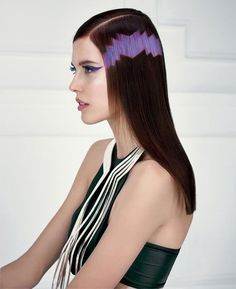 Pixilated hair trend,  Madrid.