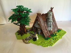 Maison d'Astérix in lego