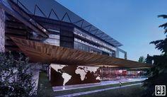 World Health Organization - Geneva Design Competitions, Geneva, Sustainability, Fields, Organization, Architecture, World, Building, Health