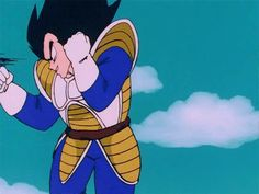 So Vegeta's base form was stronger in the saiyan saga.