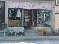 Tip Top Atomic Shop Vintage Clothing and Retro House Furnishings- Milwaukee, WI