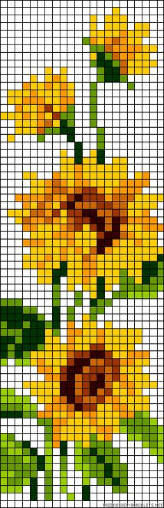 pretty sunflowers pattern. Because my grandmother loved sunflowers