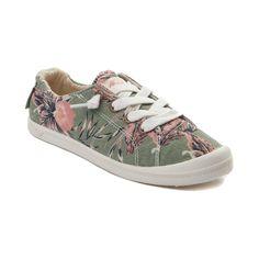 Womens Roxy Bayshore Casual Shoe - Olive - 70040675