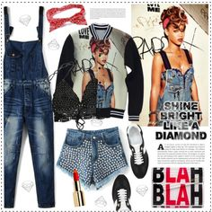 Shine Bright Like a Diamond by houseofhauteness on Polyvore featuring Yves Saint Laurent, Jimmy Choo and Oris