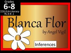 """This is a successful lesson on """"Blanca Flor"""" by Angel Vigil. It is editable to suit your needs. Included is:--a Learning Focused lesson plan includes an EATS format with an Essential Question, activating strategy, teaching strategies and a summarizing strategy (Exit Ticket)--a short PowerPoint to keep students in the right place while reading and working on the activities. -- 2 worksheets--group activity-- a cast list--answer keyAfter the lesson, students group- by the drama's character- to…"""