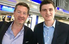 Julien Backhaus und Kai Diekmann