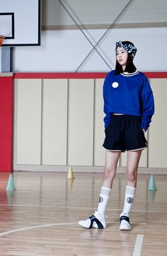 Pointed Piped Blue Sweatshirt by DIM. E CRES. #new in #weareselecters #stores