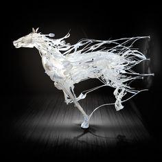artist: Sayaka Ganz. Recycled Animal Art