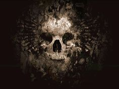 Art Dark Skull Wallpaper Desktop 3719 Wallpaper