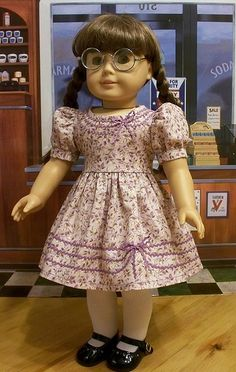 1944 Lilac rick rack frock for Molly | Flickr - Photo Sharing!