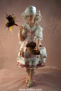 Art doll by Rotraut Schrott Dolls