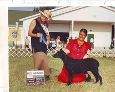 First time in the ring. 6 months old. 1999. Ch. Addidas Yatzee CGC, TT, TDIEVA