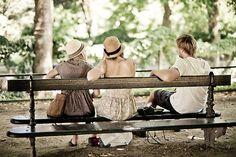 'Choices in the Luxembourg Garden - Paris' by Yanick Delafoge Luxembourg Gardens, Two Girls, Outdoor Furniture, Outdoor Decor, Street Photography, Choices, Paris, Happy, Image