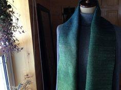 Hand-Woven Lithuania wool ハンドメイドストール mana-antique.com