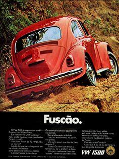 Anúncio Fuscão - VW 1500 - 1970