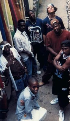 OUTLAWZ 4EVER: Pac (left), Kastro (bottom), Kadafi (top right), E.D.I. Mean (left of Kadafi) #hiphop #westcoast #rap