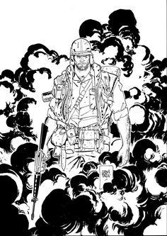 """Punisher by Goran Parlov  """"Platoon"""""""
