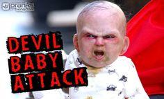 Devil Baby Attack, il Bambino Indemoniato in Carrozzina, http://www.prankskingdom.it/devil-baby-attack/