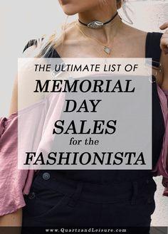 Memorial Day Sales 2