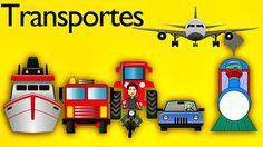 La Canción De Los Transportes para Niños - Canciones Infantiles - Video...