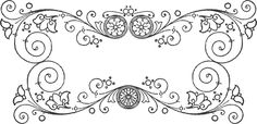 Quilling design pattern