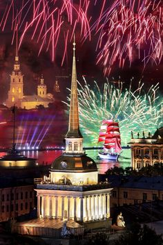 White Nights Festival/Scarlet Sails in St. Petersburg