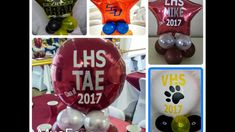 How to Apply Vinyl Letters to your Personalized 2017 Graduation Balloon Centerpiece Ideas Balloon Centerpieces, Centerpiece Ideas, Graduation Balloons, Letter To Yourself, Silhouette Vinyl, Letter Balloons, Cricut Vinyl, Vinyl Lettering, How To Apply