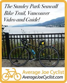 This is a complete guide to the flat, family-friendly Stanley Park Seawall Bike Trail – which is one of the most beautiful bike trails in the world. Vancouver's Stanley Park was recently named the top urban park in the world by Trip Advisor. Cycling Workout, Cycling Gear, Stanley Park, Trail Guide, Urban Park, Cyclists, Training Plan, Bike Accessories, Bike Trails