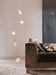 The Beacon Lighting Venezia modern 5 light round halogen pendant in crystal and chrome Entry Lighting, Beacon Lighting, Living Room Lighting, Home Lighting, Pendant Lighting, Bathroom Lighting, Room Lights, Ceiling Lights, Ceiling Fan Installation
