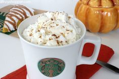 It's almost fall and this CopyCat Starbucks Pumpkin Spice Latte Recipe is going to save you $$'s this fall. I am totally getting in fall mode this week. I a