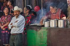 Impatient for Santa to arrive at the Chichicastanengo Xmas Parade | Guatemala