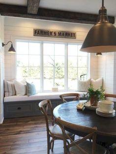 76 Gorgeous Farmhouse Dining Room Decor Ideas