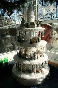 Christmas Village Ideas | christmas village display… | Holiday ideas