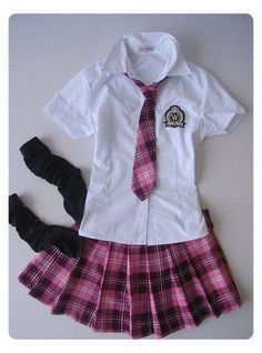 #anime #school #uniform #pink This is the Japan school uniform,tie and dress are pink plaid,,so i love it,i want to buy it to wear!!!! Japan School Uniform, School Uniform Outfits, Uniform Dress, School Girl Outfit, Girl Outfits, Uniform For Kids, Fashion Kids, School Fashion, School Dress Code