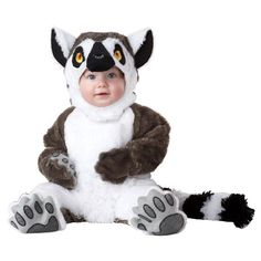 Animal Planet Lemur Infant Costume