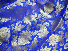 Useful Pur Saris En Soie à Imprimé Floral Déco Craft Tissu Vintage Utilisé Vert 5yd Discounts Sale Autres