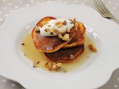 Dýňové lívanečky Pancakes, Breakfast, Food, Morning Coffee, Essen, Pancake, Meals, Yemek, Eten