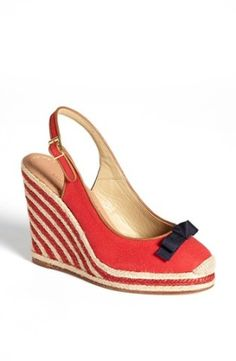 kate spade new york 'sweetie' platform wedge