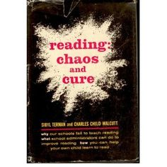 Reading: chaos and cure (Hardcover) http://www.amazon.com/dp/B0007DRDGE/?tag=wwwmoynulinfo-20 B0007DRDGE