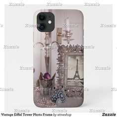 Vintage Eiffel Tower Photo Frame Case-Mate iPhone Case Iphone 11, Apple Iphone, Unique Iphone Cases, Plastic Case, Keep It Cleaner, Espresso Machine, Vintage Shops, Smartphone, Tower
