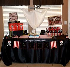 Pirates & Pixies Birthday Party Ideas   Photo 2 of 31   Catch My Party