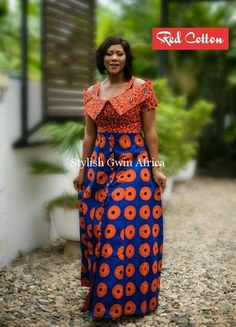 The Most Beautiful Ankara Gown Styles of 2018 African Maxi Dresses, Latest African Fashion Dresses, African Dresses For Women, African Print Fashion, Africa Fashion, African Attire, African Wear, Beautiful Ankara Gowns, Ankara Stil