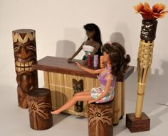Hey! How come I didn't have Tiki Barbie when I was a kid?