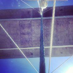 Underneath the Jamestown Verrazano Bridge - 8.26.2012