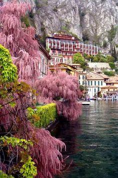 Limone sul Gsrda (Brescia) Italy.