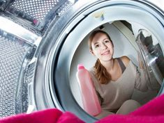 Även tvättmaskinen måste tvättas. Du kan enkelt göra ren den med askorbinsyra, citronsyra och maskindiskmedel.