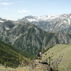 A steep ride up the Wallowa Lake Tramway brings you to a lookout point on Mt. Howard with views of Oregon's Wallowa Mountains and Eagle Cap Wilderness. The mountain is a newly designated National Natural Landmark.