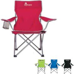 "The Big Lounger #BIGLNGR Whether relaxing on the beach or settling in for an outdoor concert, the Big Lounger can stand out from the ""rest""! A tall back chair with a silver tubular steel frame, this handy accessory features a mesh cup holder on the right arm and includes a carrying bag for added convenience. The sturdy design can hold up to 250 lbs. Ideal for employee incentive programs or campus bookstores, they're also well suited for sporting events!"