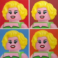 Pinturas famosas al estilo LEGO  #by #Hoy #NellaBisuTej