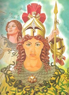 Athena/Athene by Giovanni Caselli. One of the 12 great Olympian deities, and the virgin goddess of arts, crafts, and war. The patroness of Athens. Greek Gods And Goddesses, Greek And Roman Mythology, Sacred Plant, Celestial, Book Of Shadows, Ancient Greece, Celtic, Fantasy Art, Artwork
